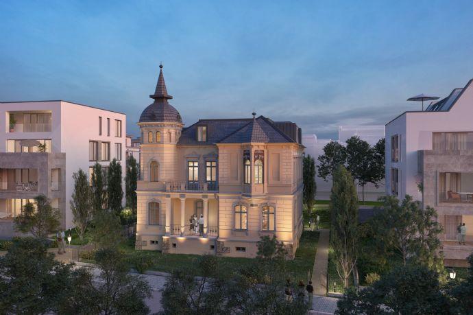 Direkte Elblage - Denkmalgeschützte Villa Sanierung