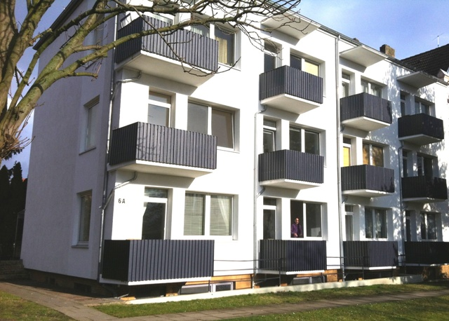 Hann.-Leinhausen, Uni-Nähe, Conti-/VW-Nähe, gr. 1-Zi.-Apartment m. Balkon