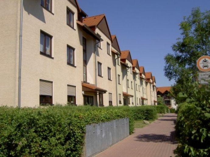 Schöne 3Raum-Wohnung mit Süd-Balkon- neues modernes Laminat