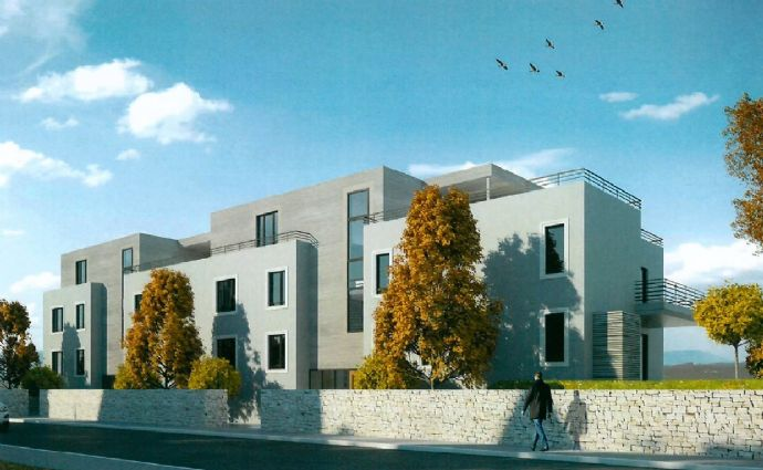 ZU VERMIETEN: Helle, moderne 3-Zimmer Neubauwohnung (ca. 105,70m²) mit Balkon, Aufzug, Tiefgaragen-Stellplatz und Kellerraum