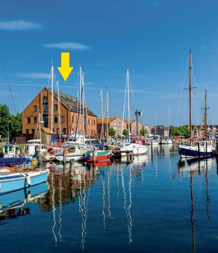 Yachthafen-Restaurant inkl Betreiber-Wohnung und Büro