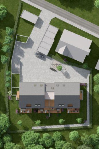 Baubeginn erfolgtTerrassenwohnung Neubau Inningen