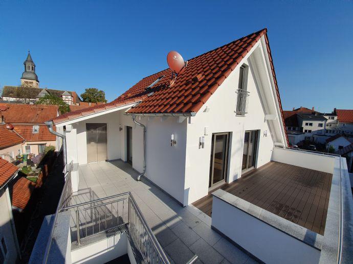 Exklusive, barrierefreie Penthouse Wohnung mit Galerie in Hofgeismar - provisionsfrei zu vermieten - Neubau