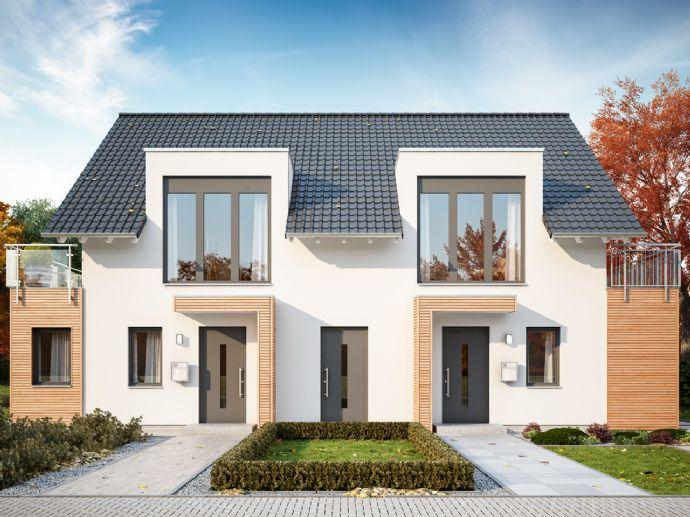 Profitieren Sie gleich mehrfach mit einem individuellen Doppelhaus für die ganze Familie