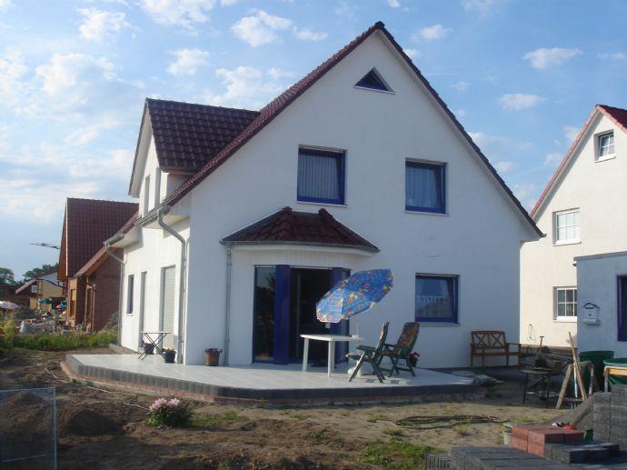 Neubau einer großen Doppelhaushälfte in Barsinghausen