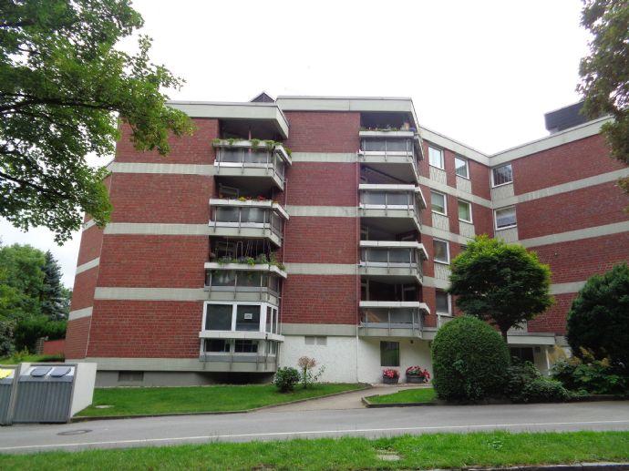 Komplett möblierte 2 1/2 Zimmer Mietwohnung mit großer Loggia in Dortmund Wellinghofen