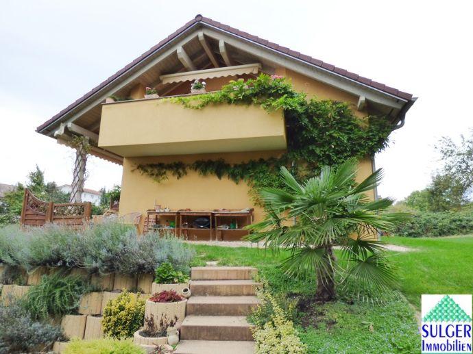 RARITÄT in Überlingen am Bodensee : Freistehendes Einfamilienhaus in super Lage, neuwertig, individuell, großzügig