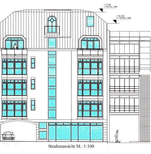 9 Neubau-Mietwohnungen (55 m² - 150 m²) mit hochwertiger Ausstattung in beliebter Lage von Frankfurt-Bockenheim