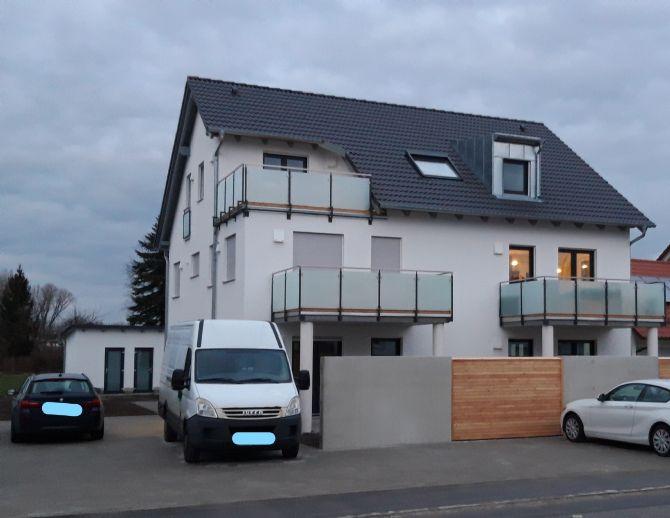 Sehr schöne 85 m² 3-Zimmer-Wohnung mit Balkon im Ergolding Piflas -  ERSTBEZUG