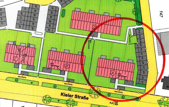 4. Bauabschnitt, ETW Nr. 7 im Dachgeschoss, Haus A, Kieler Straße 435, Neubau 9 Eigentumswohnungen