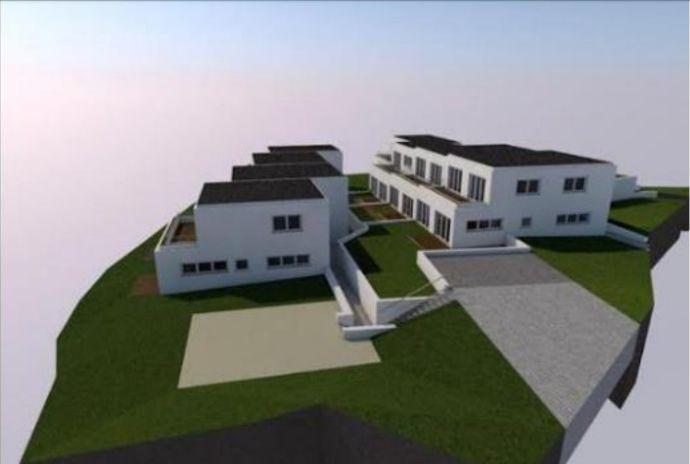 Baugrundstück mit Projekt zum Bau zweier Reihenhauszeilen mit Tiefgarage in Dillingen an der Donau