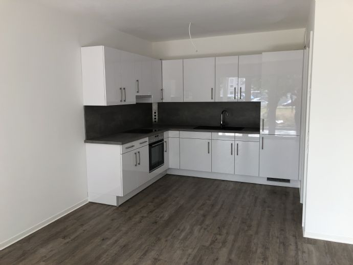 Optimale Süd-Ausrichtung! 3 Zi. Neubau-Wohnung mit Tiefgaragenstellplatz und Balkon