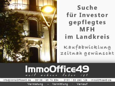 Dachau Renditeobjekte, Mehrfamilienhäuser, Geschäftshäuser, Kapitalanlage