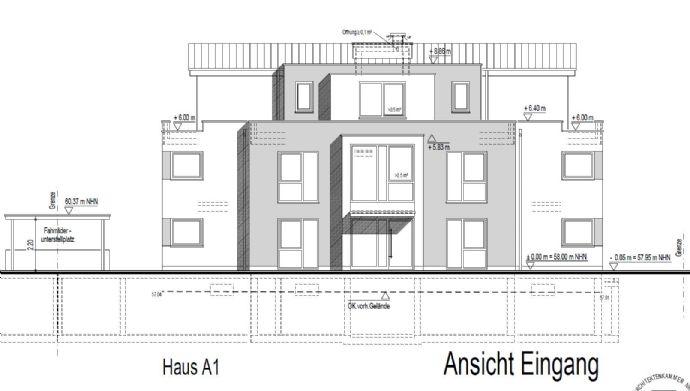 Neubau 2 Zimmerwohnung in Troisdorf-Bergheim