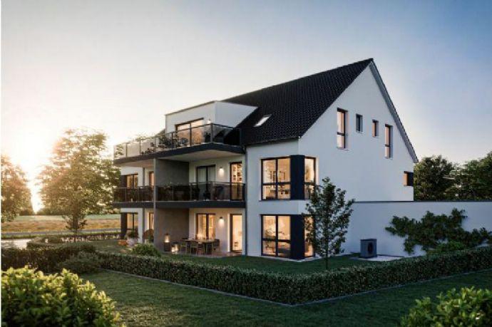 KfW55 Neubau großzügige Penthouse-Wohnung in