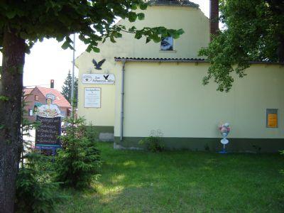Bild 6 Garten mit Bühnenanbau