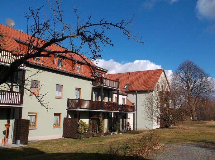 2-Raum-Wohnung mit Terrasse in ruhiger Wohnlage
