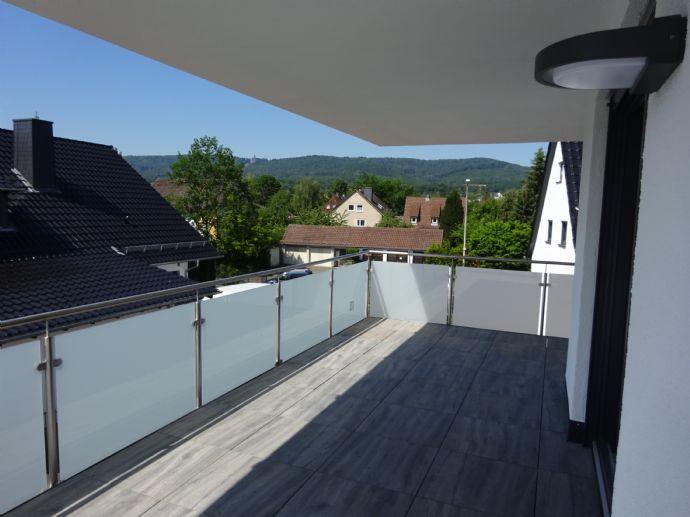 Gehobene 3-Zimmer-Wohnung in Harleshausen, Erstbezug, mit EBK und Balkon