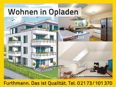 ETAGENWOHNUNG in zentraler, ruhiger Lage in Leverkusen-Opladen - KfW-Effizienzhaus 55