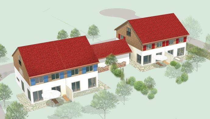 **Großzügige, ca 167m² Neubau Doppelhaushälften - Landhauschalets - 1 DHH bereits verkauft -Südausrichtung, viel Sonne**