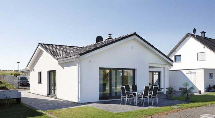 Wohnen auf einer Ebene auf 1100 mq Grundstück in Hildburghausen