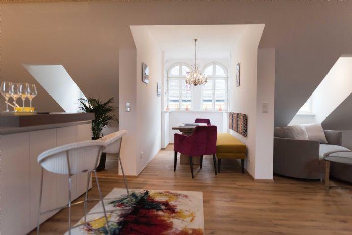 Exklusiv möblierte Wohnung mit besonderem Flair in der Nürnberger Innenstadt