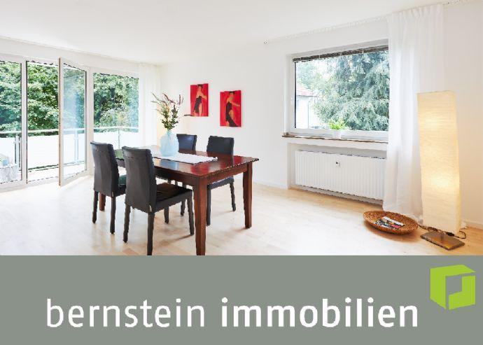 Fertig zum Einzug: Schöne 2-Zimmer-Wohnung mit Balkon-Sonnenplatz
