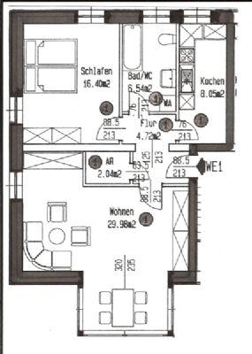Wohnung Dessau Kochstedt