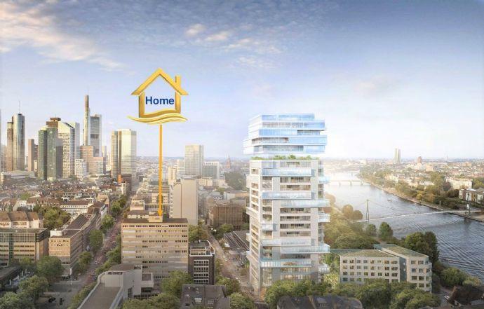 Erstbezug / Vollmöblierte Manager Neubau-Wohnung an der Main Ufer