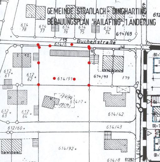 Bauträgergrundtück - mit Altbestand in einmaliger Ruhige LAGE ! Strasslach - Hailafing- in Buchenstr. - ca . 1441,5 m²