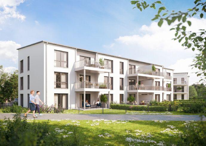 Fantastische 2-Zimmer-Wohnung auf ca. 60 m² mit modernem Grundriss & schönem Balkon