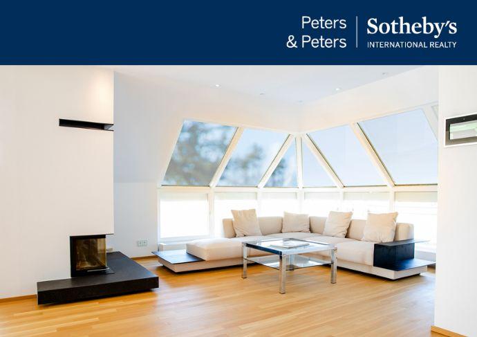 Groß, hell und unglaublich schön - das Penthouse in urbaner Grünlage
