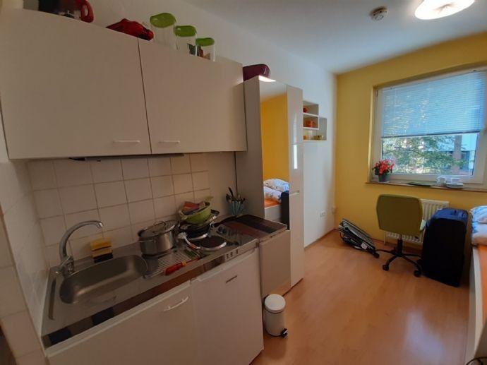 Klein aber fein, 1.Zimmer Apartment in guter Lage, voll ausgestattet