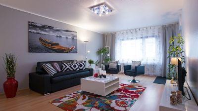 TOP Ferienwohnung in Wilhelmshaven, 83 qm, supermodern ausgestattet, 3 x TV, Smart TV u.v.a.m