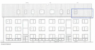 Wunderschöne komplett neu erstellte 3 Zimmer Dachgeschosswohnung