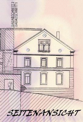 Planung zur Bauanzeige 97: Ansicht 2