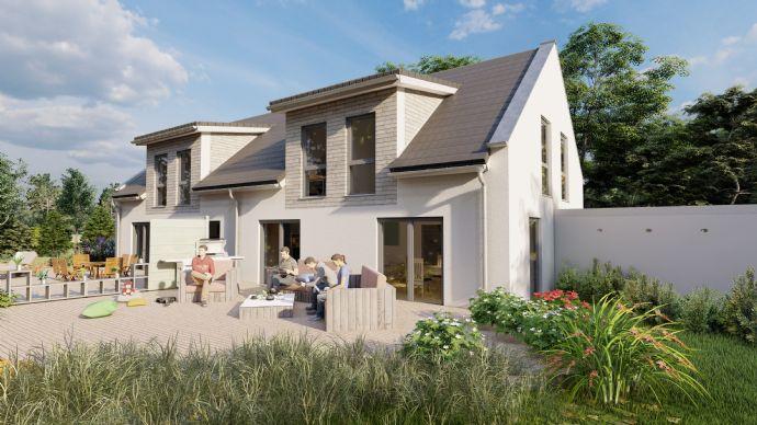 Grundstück für eine Doppelhaus-HÄLFTE - Großes