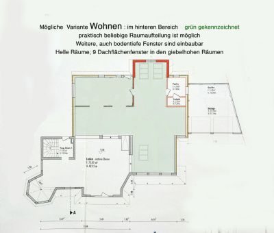 Bauzeichnung-Wohnen