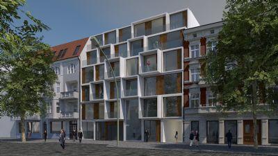 """Toll geschnittene Wohnung mit 3 Zimmern und 2 Balkonen im Neubauprojekt """"Neue Florahöfe"""""""