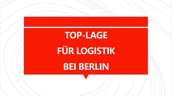 TOP-LAGE FÜR LOGISTIK GEWERBE GROSS-