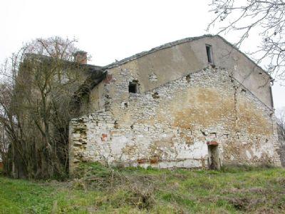 Rückwärtige Ansicht des historischen Anwesens