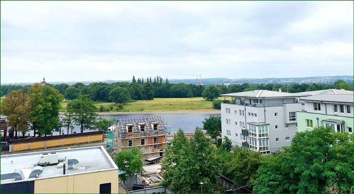 Eigentumswohnung mit schönem Blick auf die Elbe