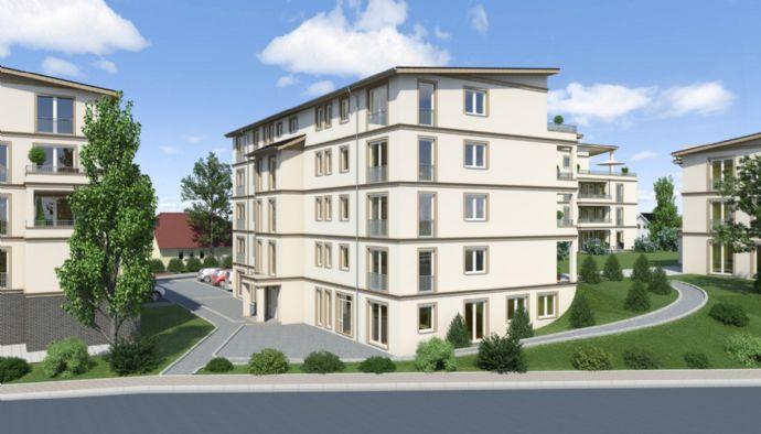 Schöne 3,5-Zimmer-Wohnung mit Balkon, Aufzug und Einbauküche