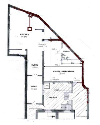 atelier gewerberaum 50 qm werkstatt d sseldorf 2czaw45. Black Bedroom Furniture Sets. Home Design Ideas