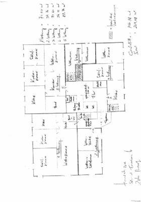 Grundriss der Wohnungen