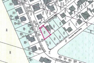 Baugrundstück mit Planung einer Doppelhaushälfte in Dessau-Kochstedt
