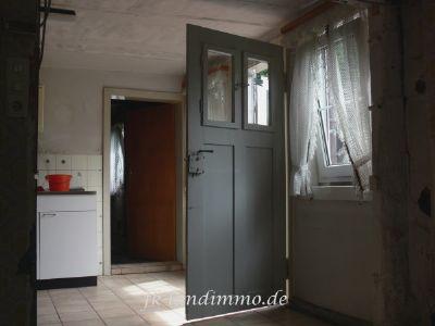 Die Tür zur Terrasse