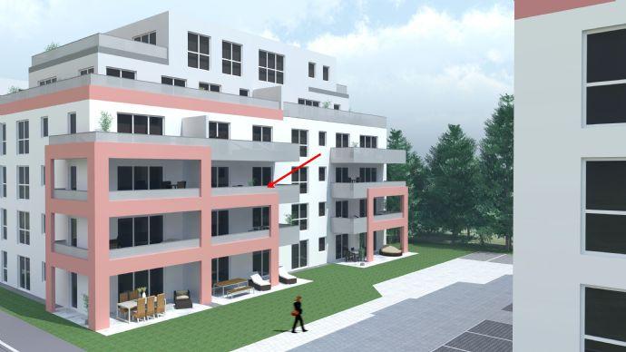 ERSTBEZUG! Neubau 2-Zimmer-Wohnung (2.OG)