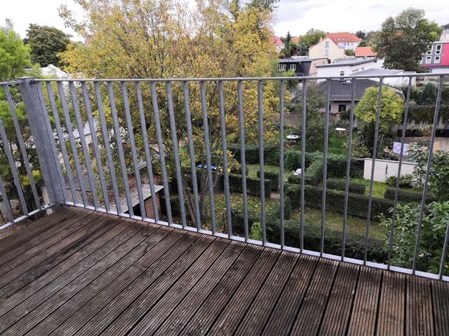 Charmante 2-Zimmer-Wohnung! ab sofort frei - Balkon, TLB , Sellerhausen-Stünz - ruhige Seitenstr., sehr gepflegt
