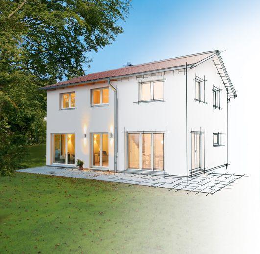 Neubau Naturholzhaus INKLUSIVE Grundstück in Berkheim.